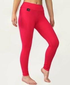 cerise pink thermal leggings