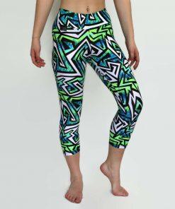 jazzz capri leggings worn by model