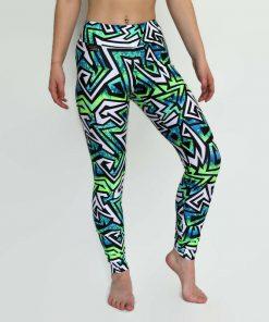 jazzz leggings worn by model